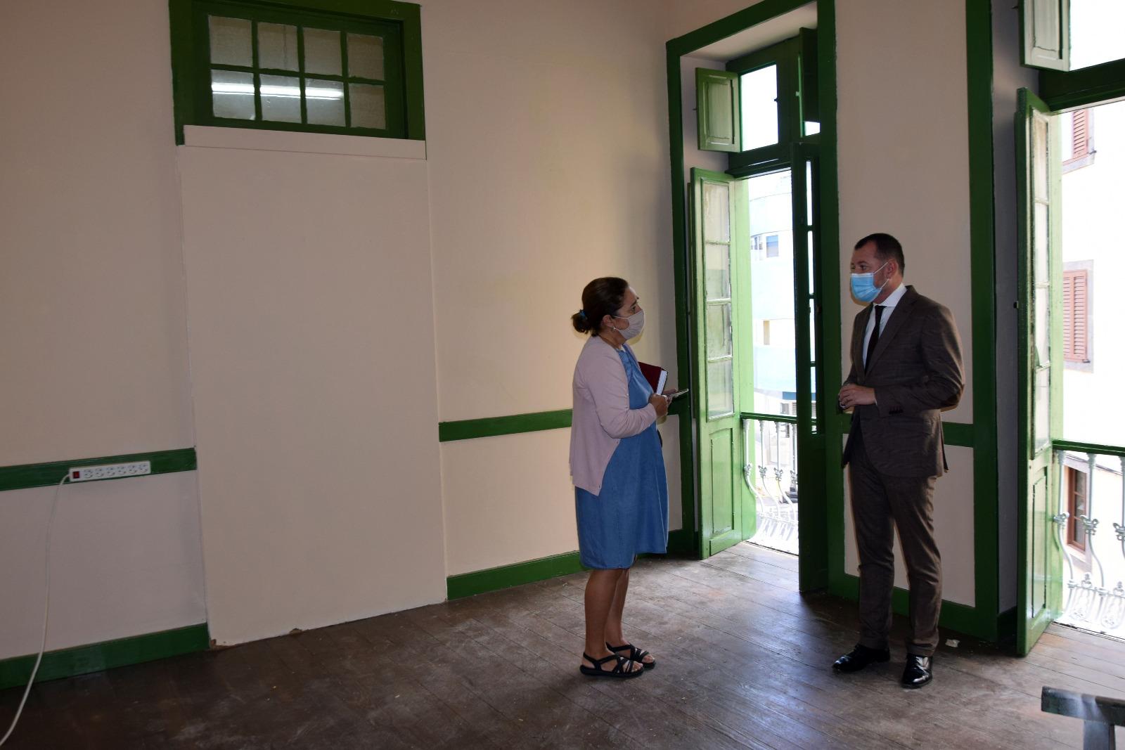 Gáldar remodela el antiguo conservatorio para albergar la sede de los grupos políticos y sindicatos