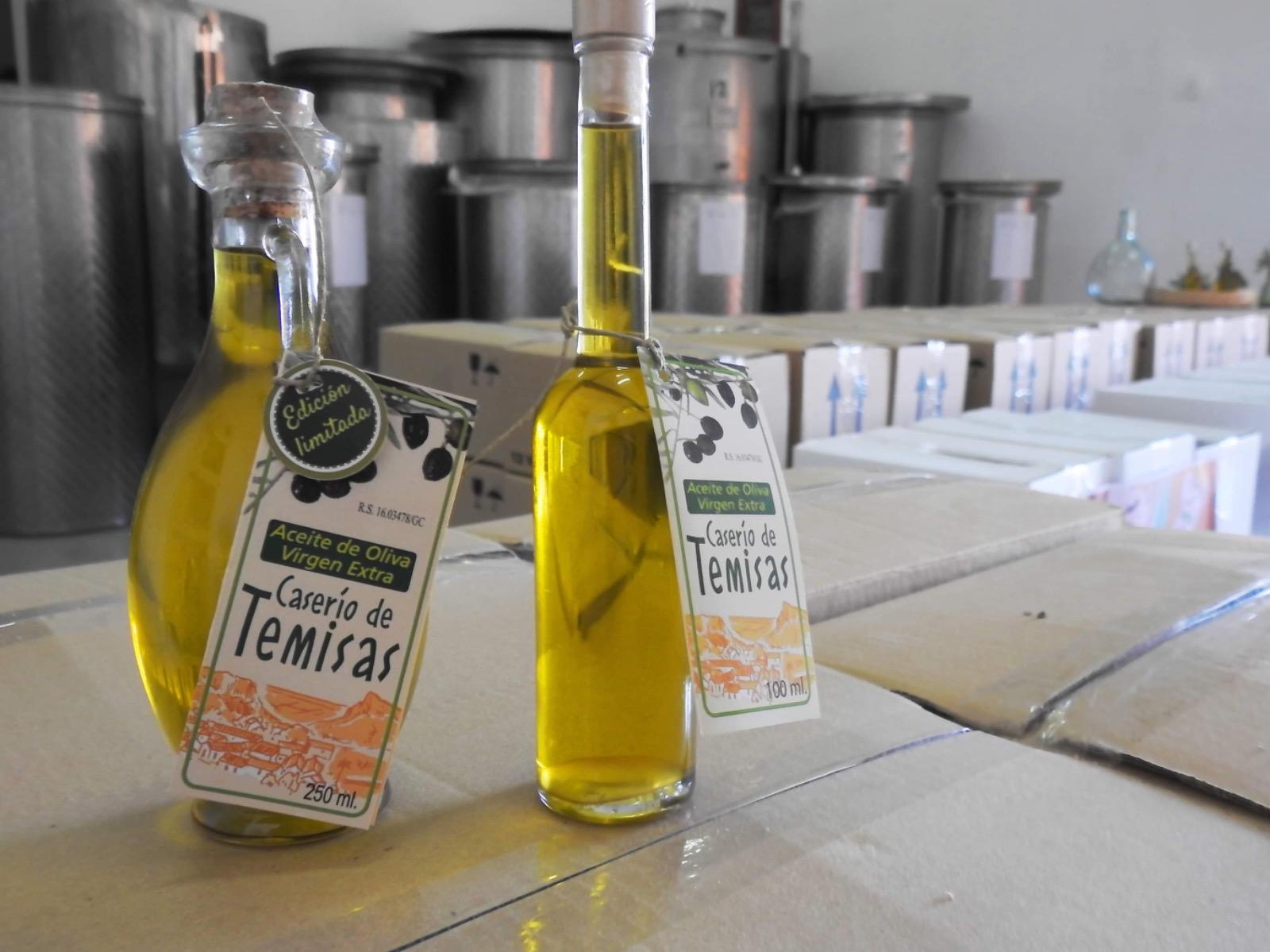 Aceite de oliva virgen extra Caserío de Temisas / CanariasNoticias.es