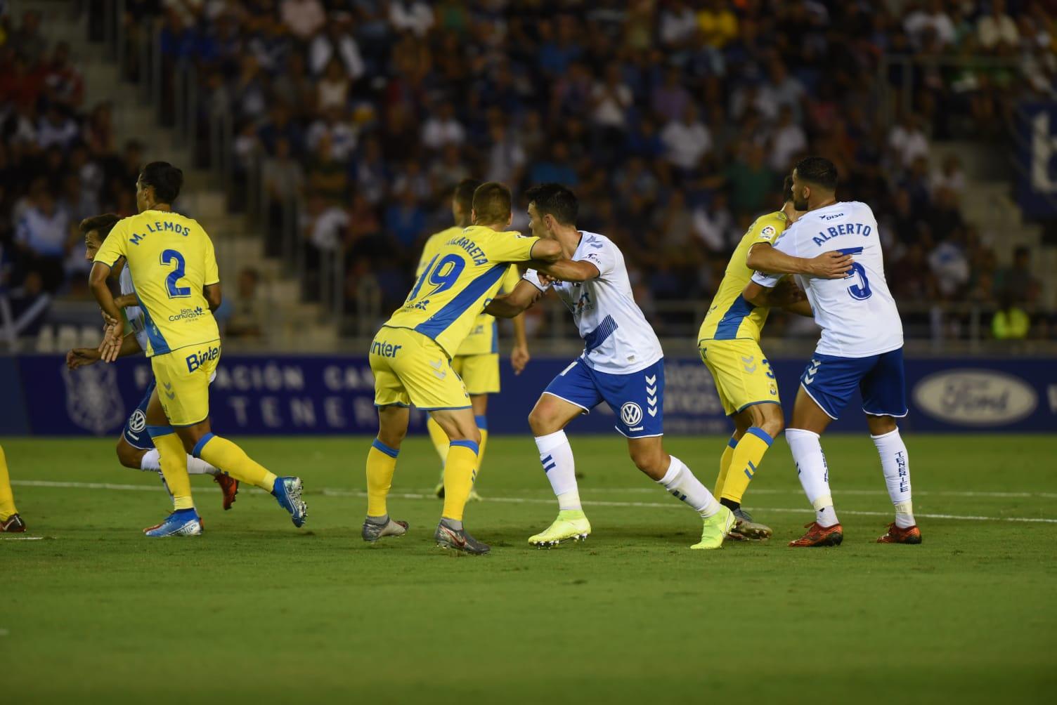 Derbi canario. UD Las Palmas-CD Tenerife