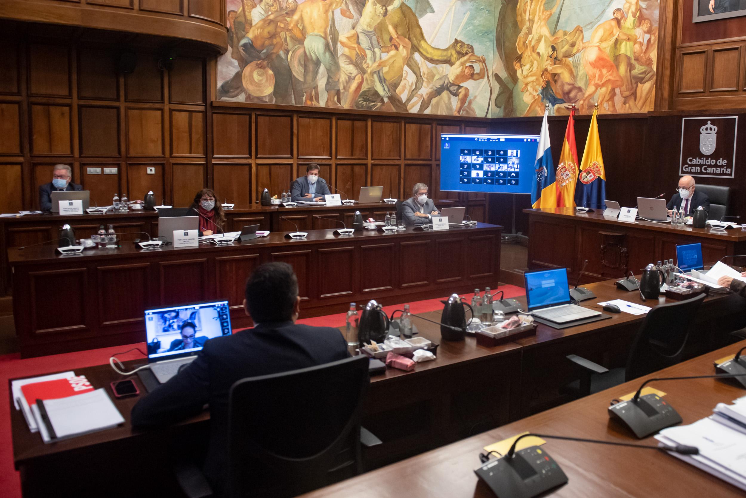 Pleno del Cabildo de Gran Canaria / CanariasNoticias.es