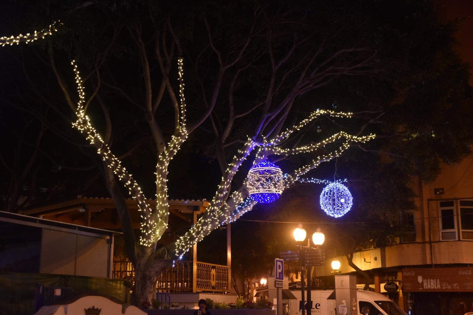 Iluminación navideña de Telde / CanariasNoticias.es