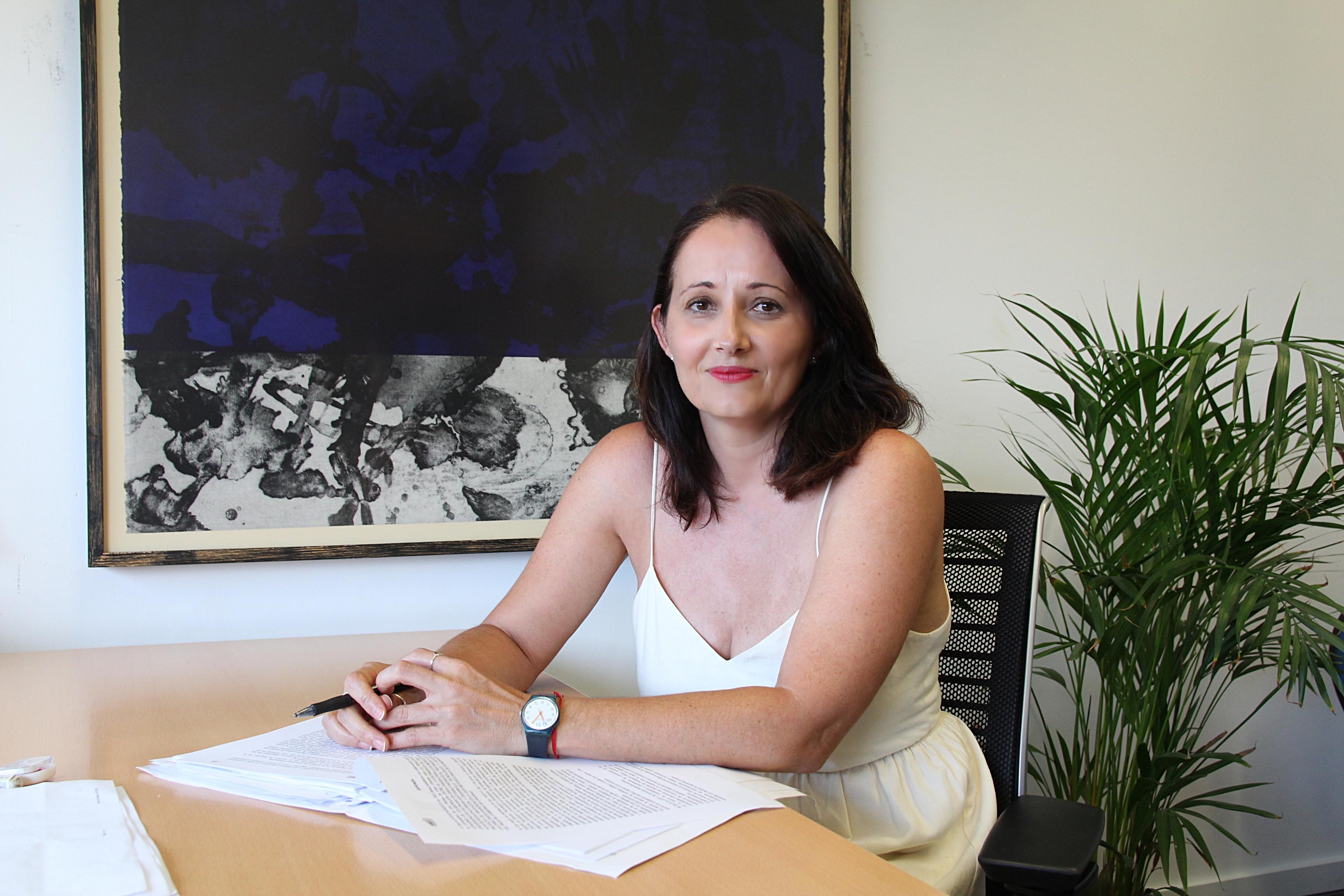 Carmen Gloria Rodríguez, concejala de vivienda del Ayuntamiento de Tías / CanariasNoticias.es