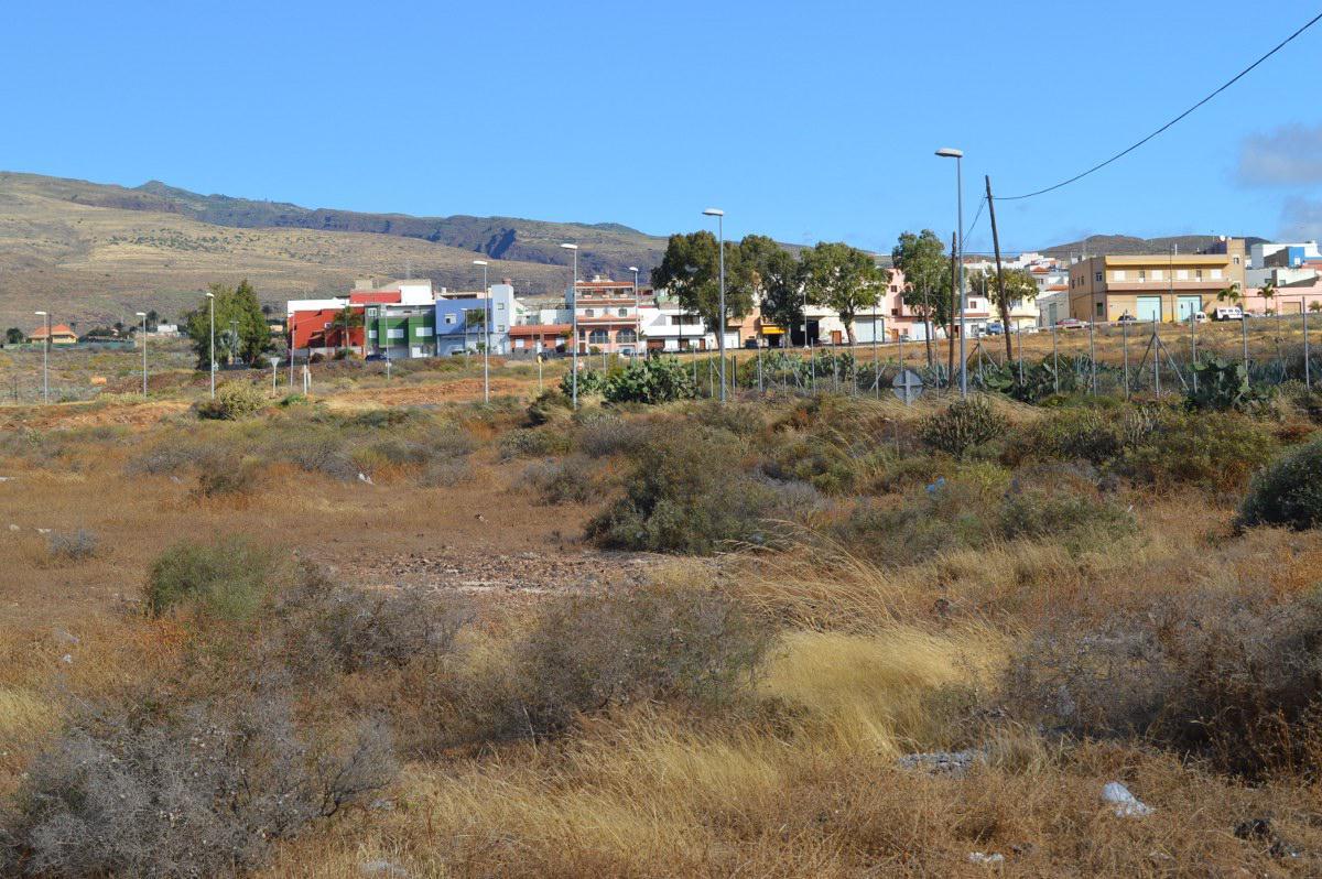 Parcela donde se construirá el complejo sociosanitario para mayores en Ingenio / CanariasNoticias.es