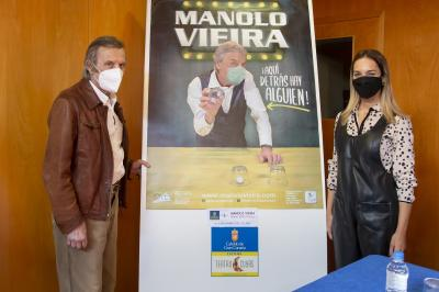 Manolo Vieira presenta un nuevo show en Teatro Cuyás / CanariasNoticias.es