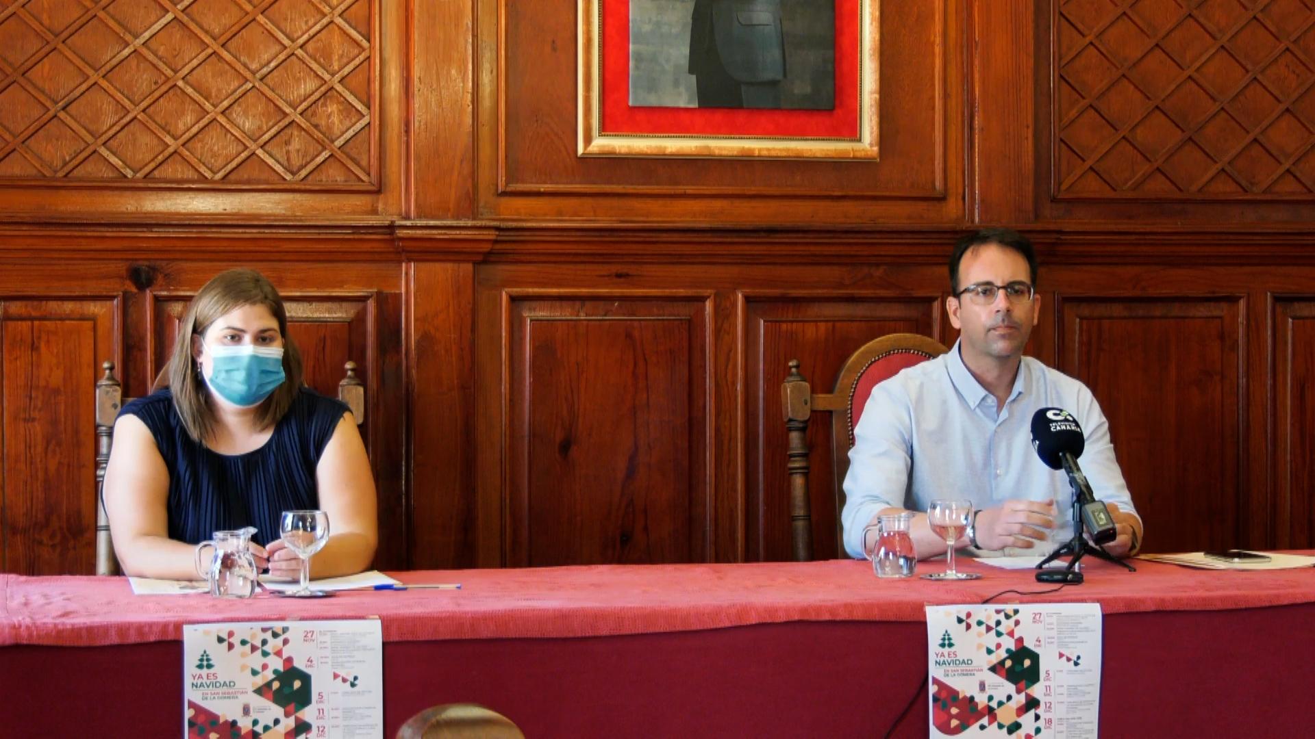 Presentación de la programación de Navidad de San Sebastián de La Gomera