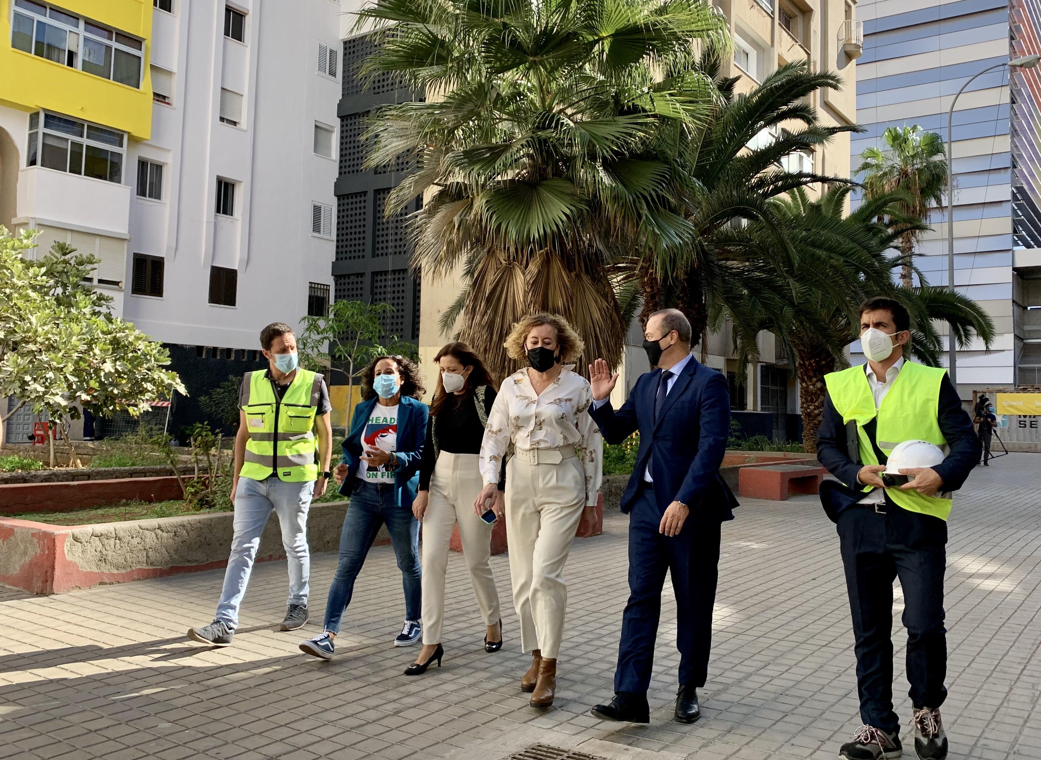 Las Palmas de Gran Canaria rehabilita 45 bloques de viviendas de San José