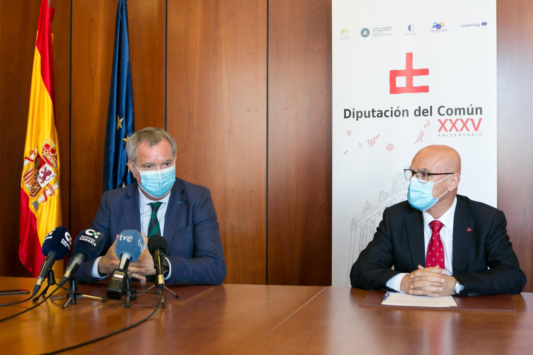 Sebastián Franquis y Rafael Yanes / CanariasNoticias.es