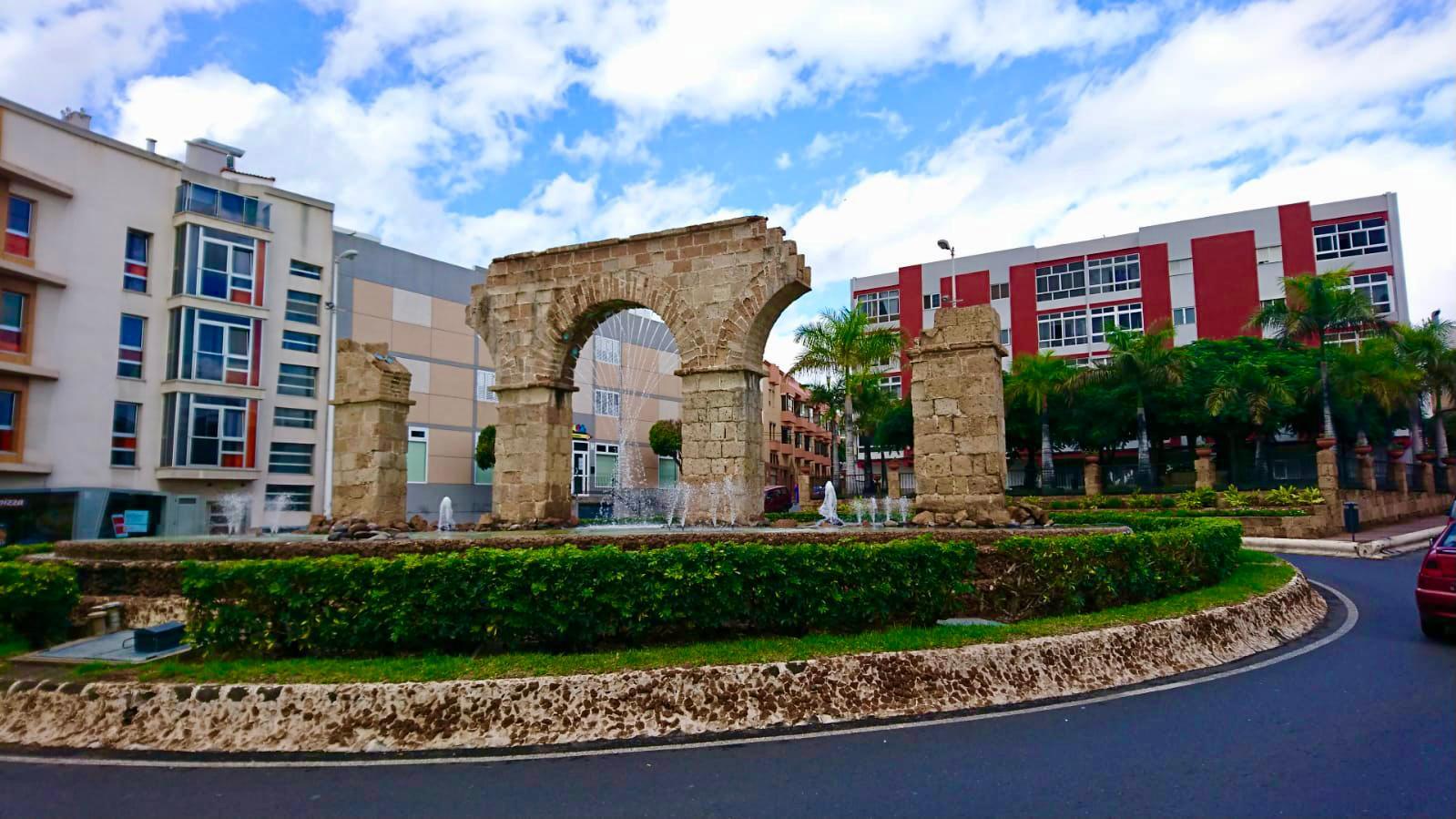Fuente del Acueducto en Telde. Gran Canaria