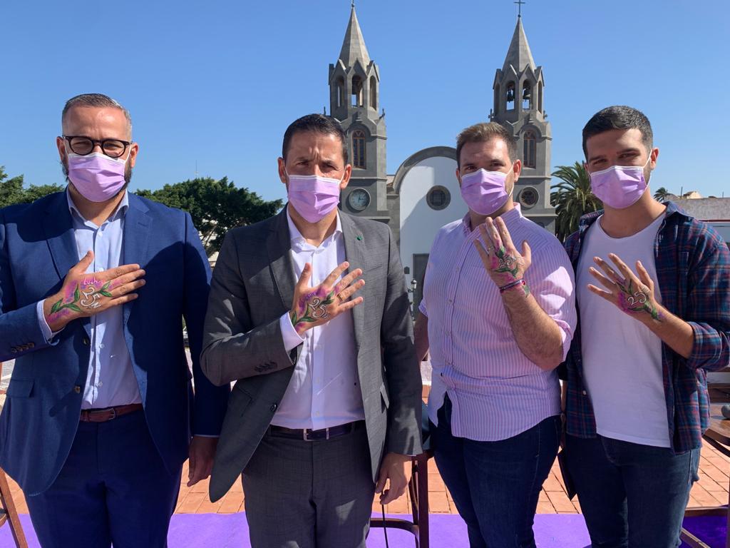 Telde presenta su campaña para conmemorar el Día Internacional de la Eliminación de la Violencia contra la Mujer / CanariasNoticias.es