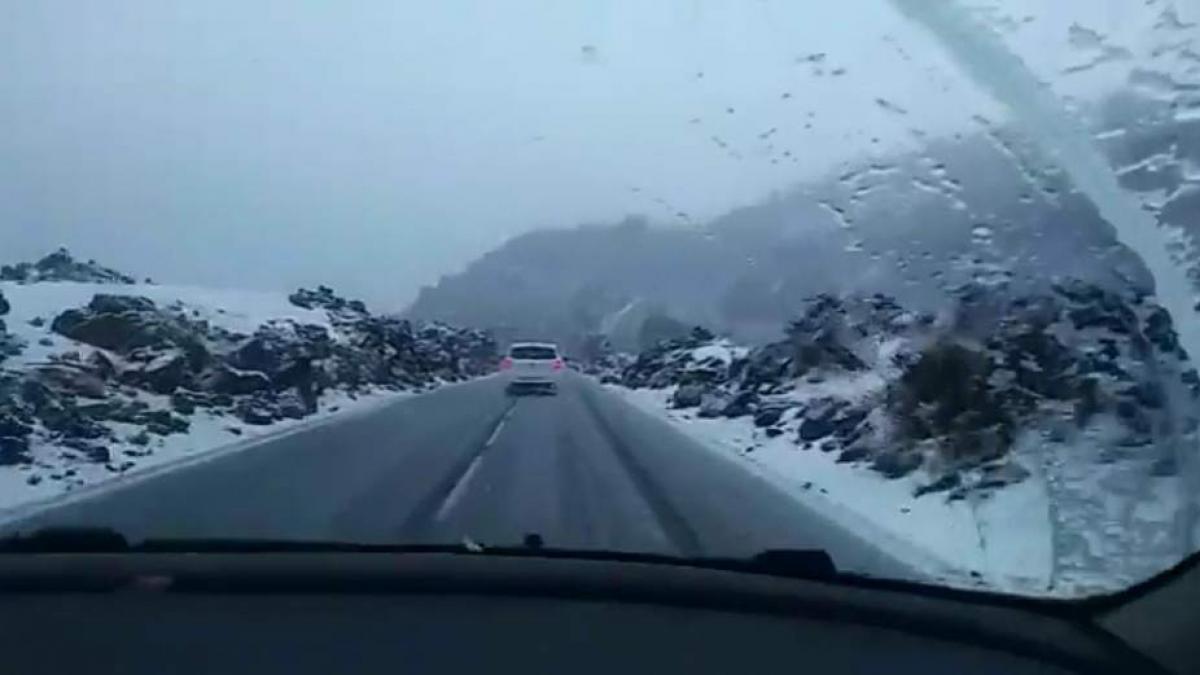 Carreteras de acceso al Teide por La Orotava, la TF-21/ CanariasNoticias.es