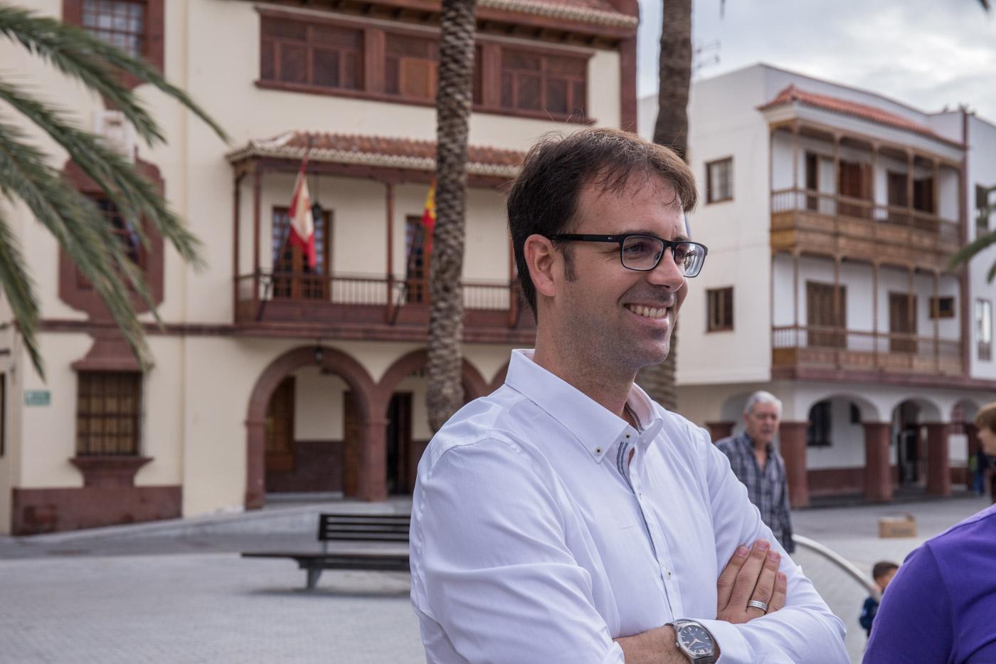Adasat Reyes, alcalde de San Sebastián de La Gomera / CanariasNoticias.es