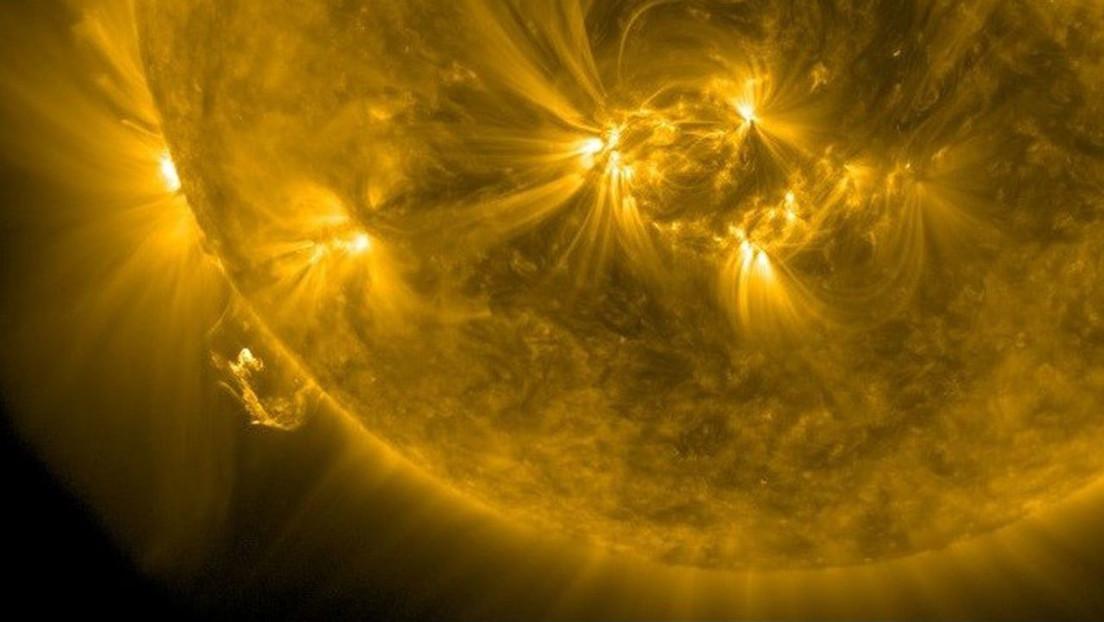 Erupción solar / CanariasNoticias.es