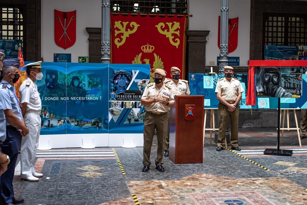 El Ejército de Tierra en la Operación Balmis/CanariasNoticias.es