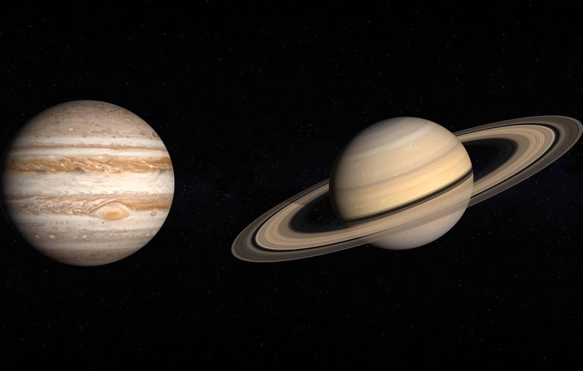 La gran conjunción de Júpiter y Saturno / CanariasNoticias.es
