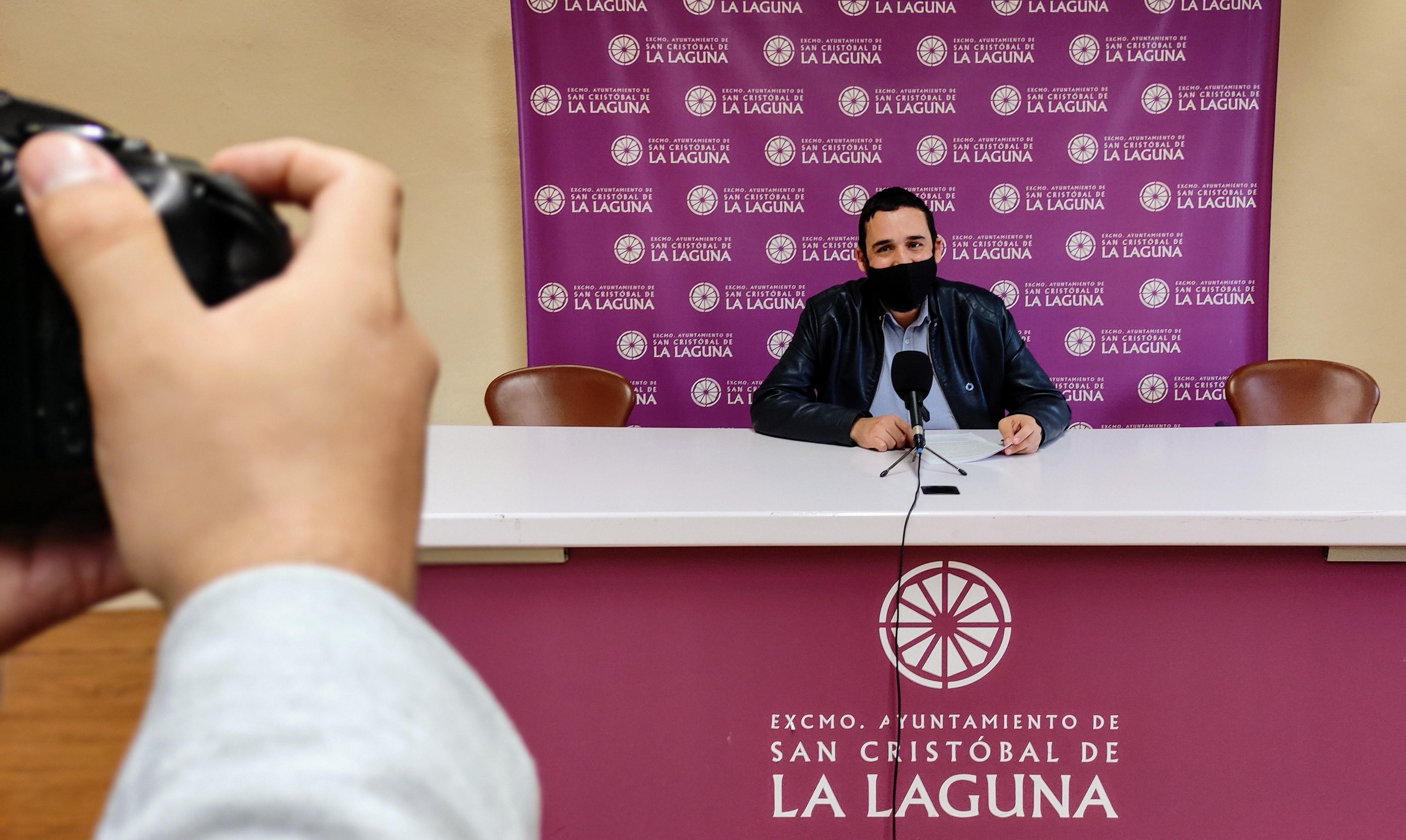 Rubens Ascanio, concejal de Bienestar Social del Ayuntamiento de La Laguna / CanariasNoticias.es