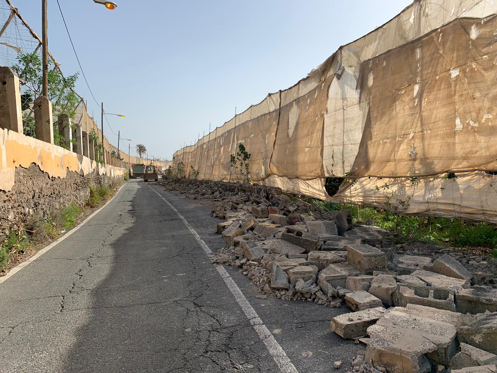 Inicio de obras en la carretera de Melenara (Telde) / CanariasNoticias.es