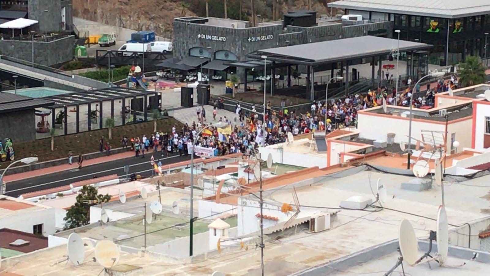 Manifestación en Mogán / CanariasNoticias.es