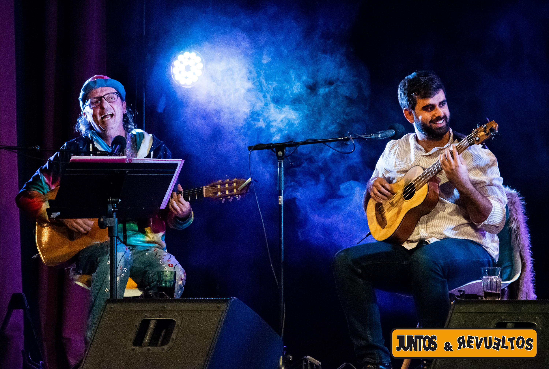 """Arístides Moreno y Abraham Ramos Chodo en """"Juntos & Revueltos"""" / CanariasNoticias.es"""