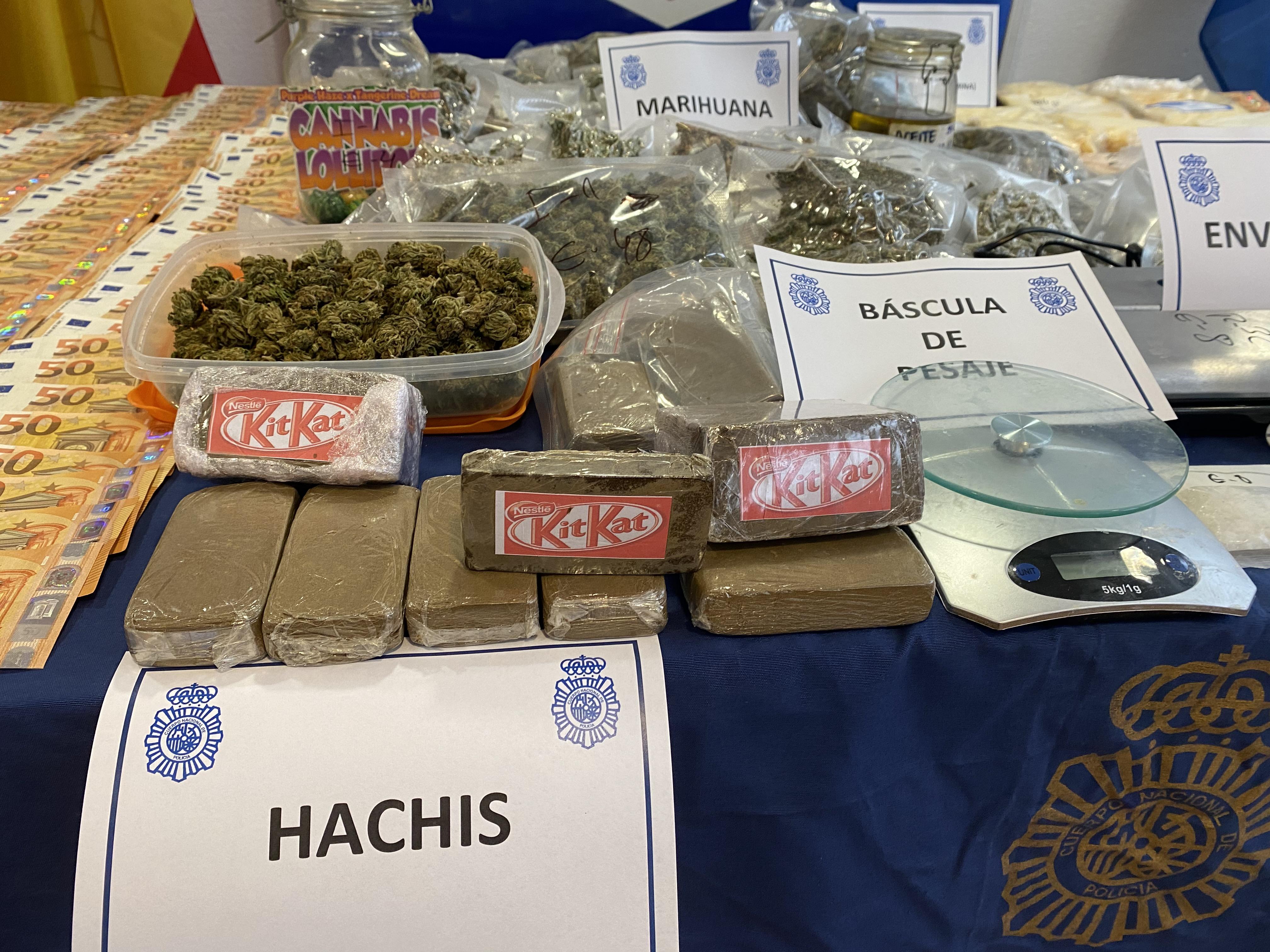 Macrorredada de la Policía Nacional contra el tráfico de estupefacientes / CanariasNoticias.es