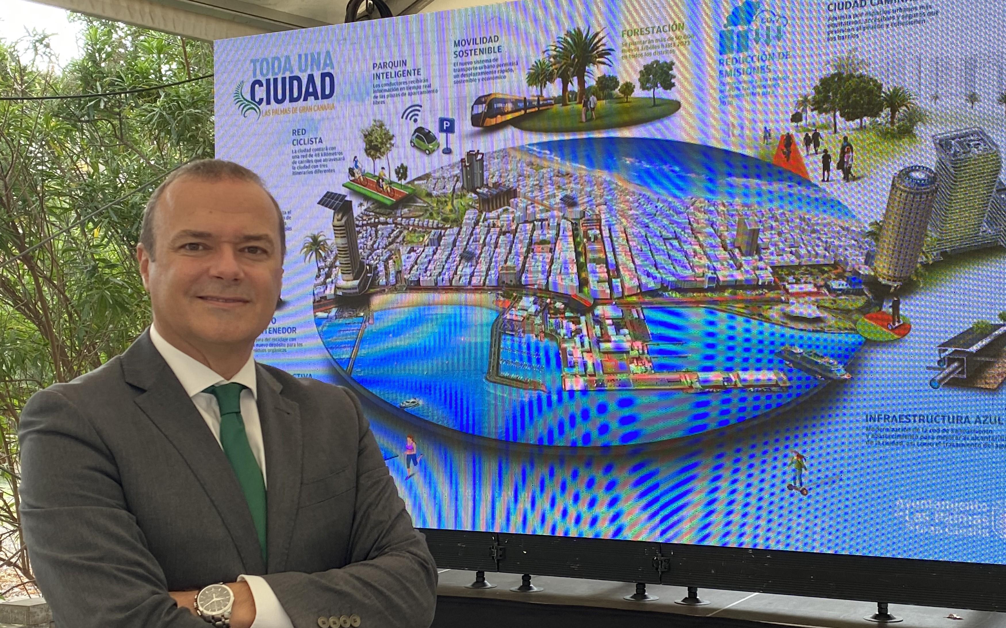 Augusto Hidalgo, alcalde Ayuntamiento de Las Palmas de Gran Canaria / CanariasNoticias.es