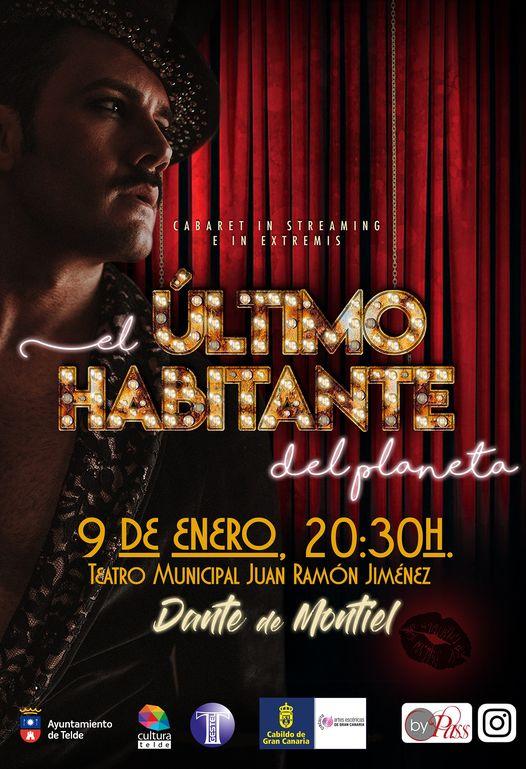 Cartel de 'El último habitante del Planeta' en el Teatro Municipal Juan Ramón Jiménez de Telde / CanariasNoticias.es
