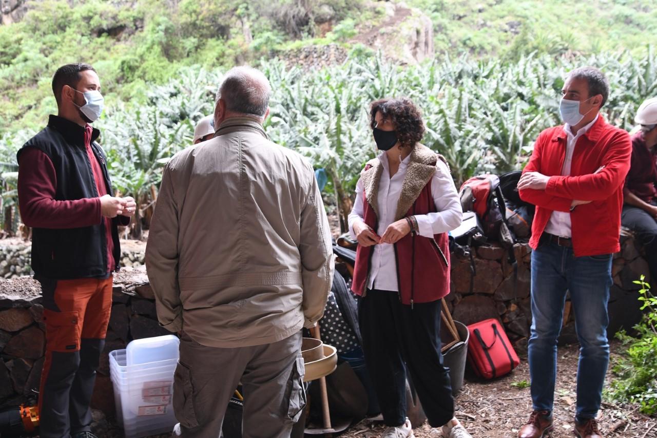 Comienza la campaña arqueológica en el yacimiento de la Cueva de El Tendal/ canariasnoticias.es