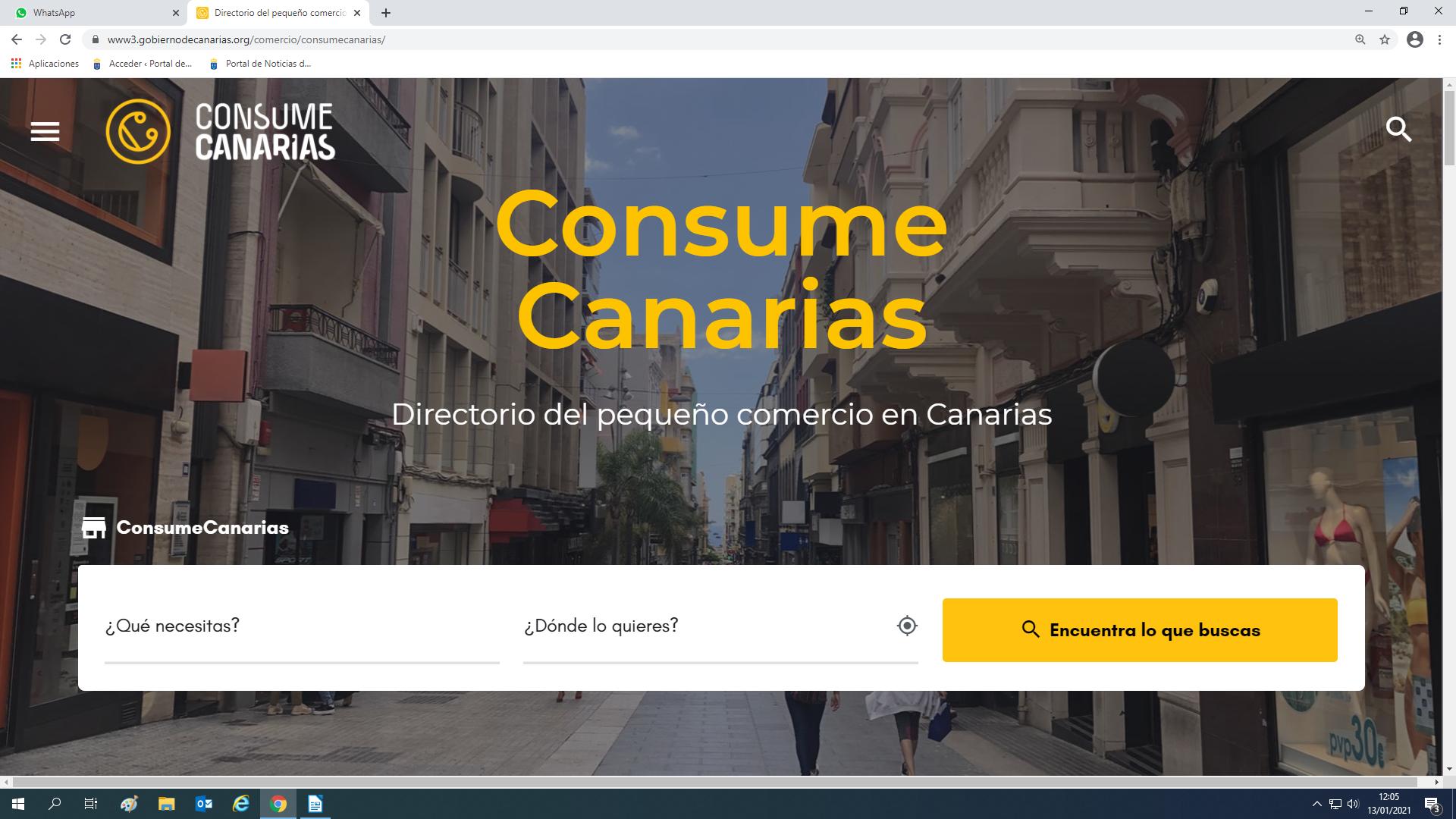 El directorio online Consume Canarias supera ya los 2.000 comercios locales