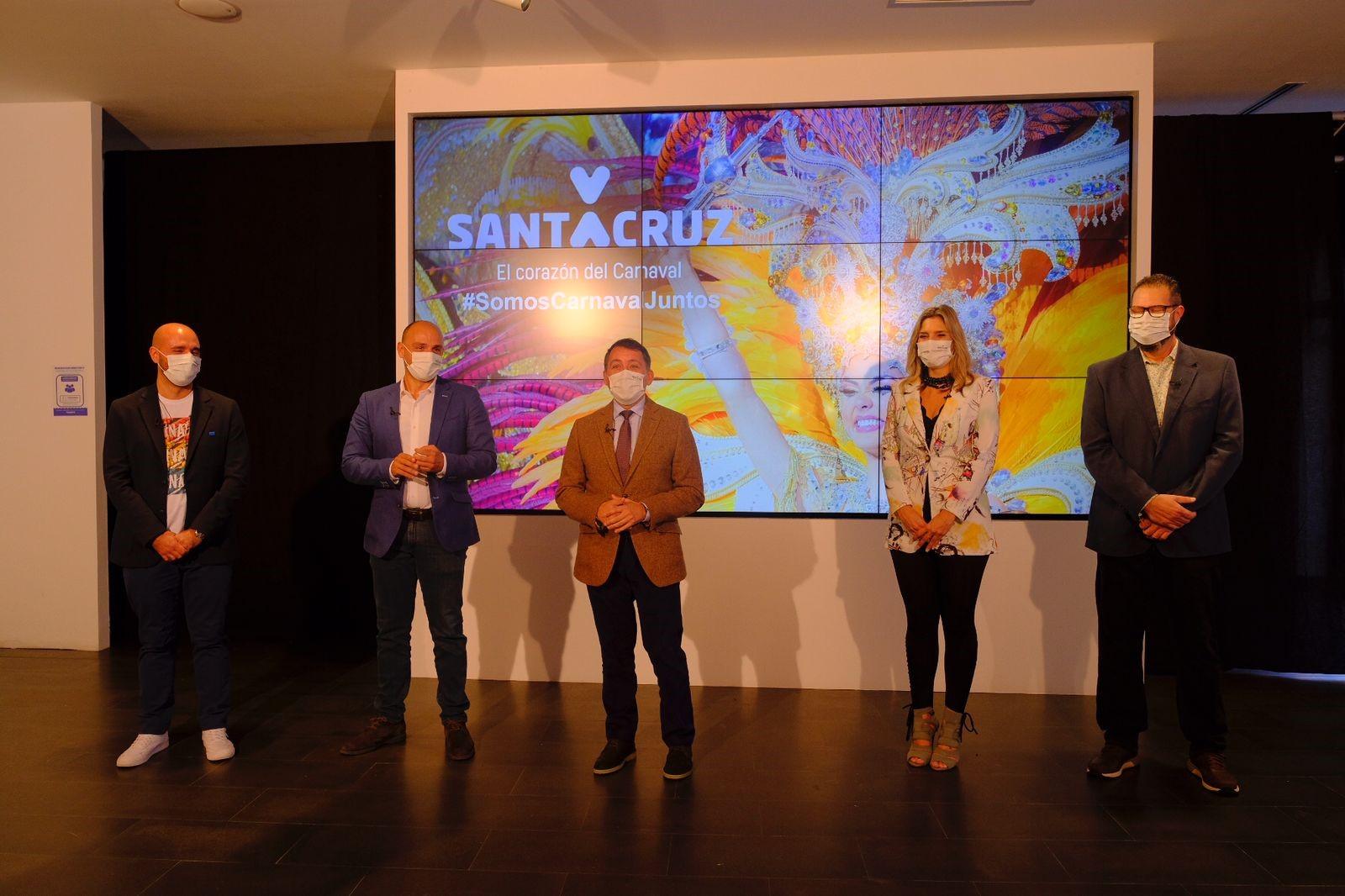 Presentación del Carnaval virtual de Santa Cruz de Tenerife / CanariasNoticias.es