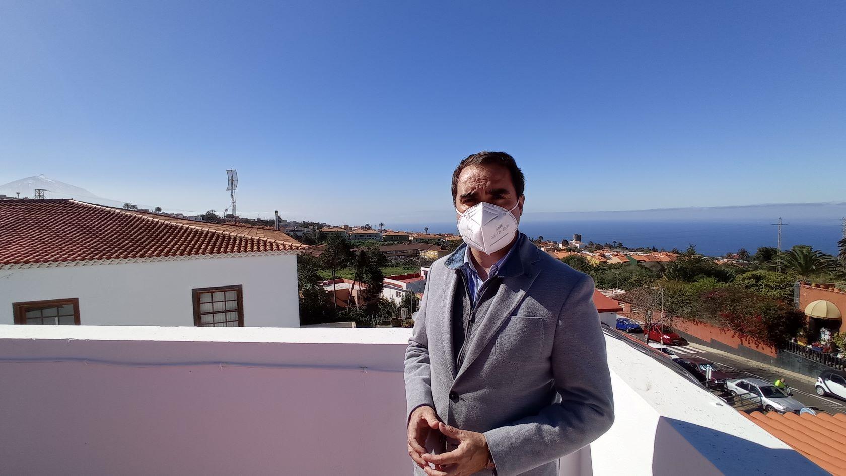 José Daniel Díaz, alcalde de Tacoronte / CanariasNoticias.es
