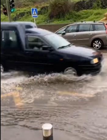 Aguas pluviales. Puldón Natero. Los Ralejos/ canariasnoticias.es