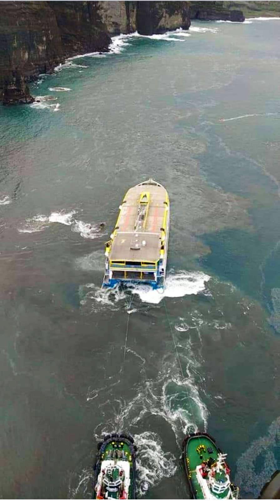Vertidos de combustible en Agaete/ canariasnoticias.es