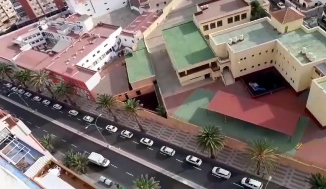Manifestación de taxista de Las Palmas de Gran Canaria / CanariasNoticias.es