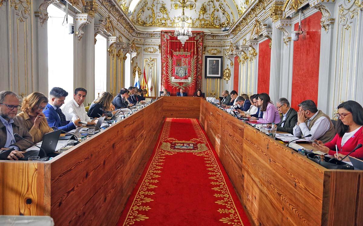 Pleno del Ayuntamiento de Las Palmas de Gran Canaria / CanariasNoticias.es