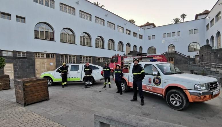 Protección Civil de Teror (Gran Canaria) / CanariasNoticias.es