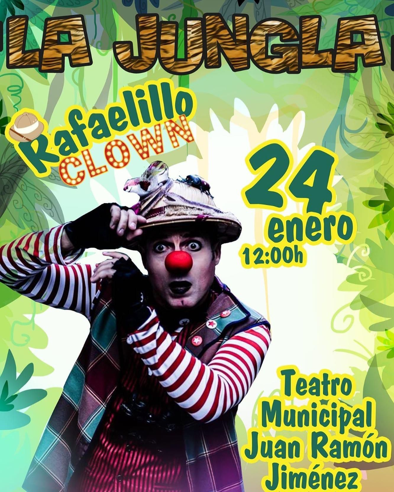 Rafaelillo Clown. Telde. Teatro Juan Ramón Jiménez/ canariasnoticias.es