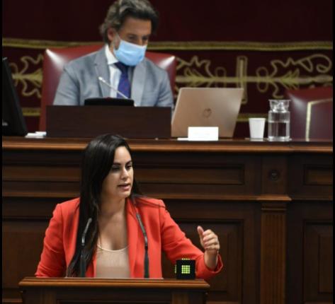 """Vidina Espino: """"El Gobierno canario debe actuar con urgencia para frenar el continuo y desolador cierre de empresas"""""""