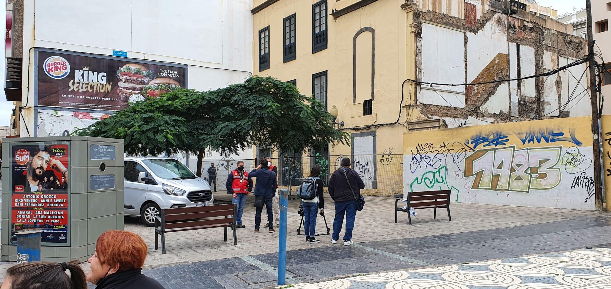 Desalojo de okupas en Las Palmas de Gran Canaria / CanariasNoticias.es