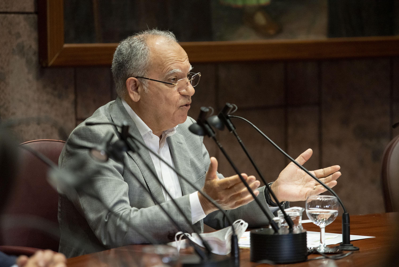Casimiro Curbelo en el Proyecto de Interconexión submarina entre Tenerife y La Gomera