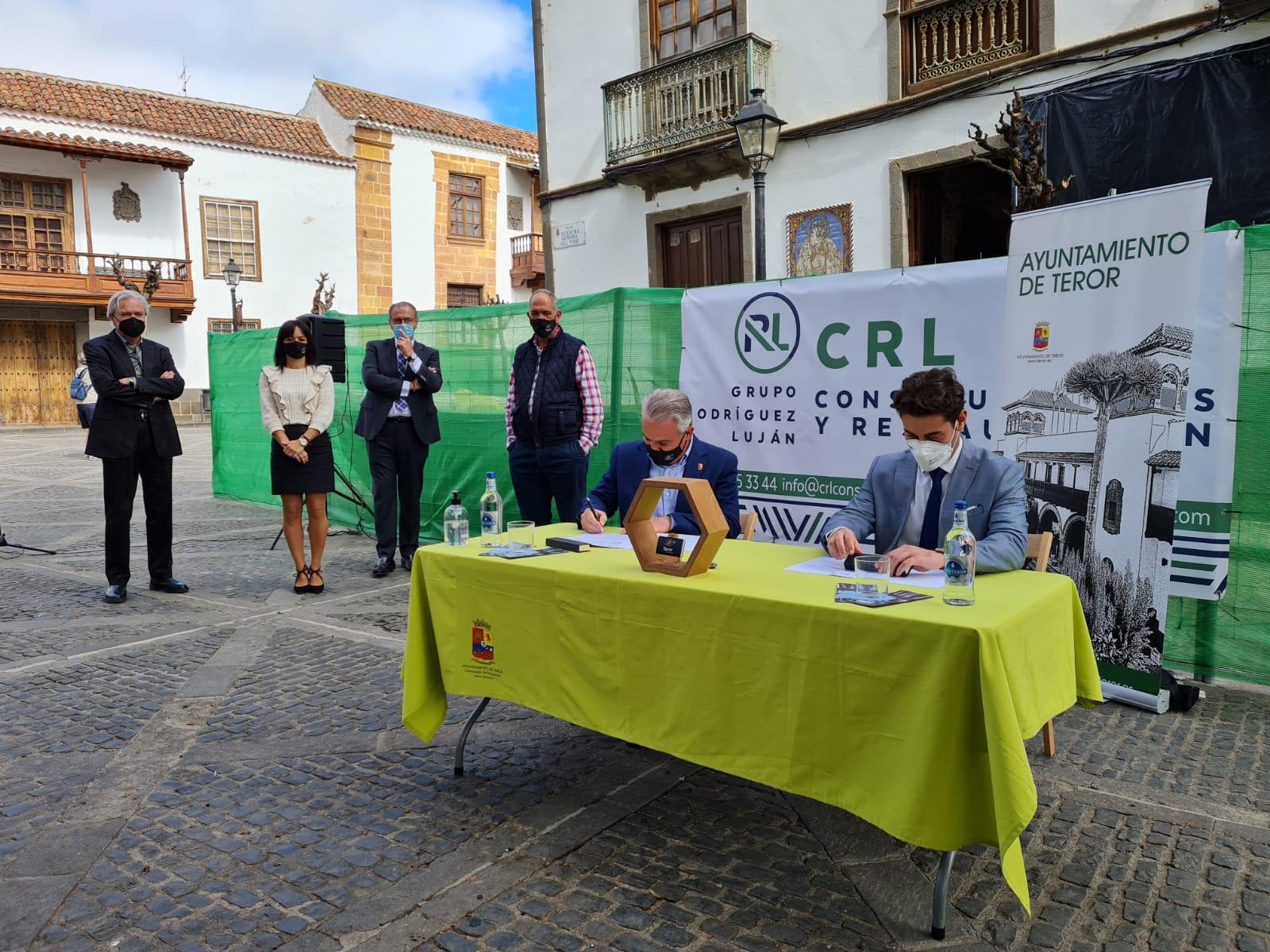 Inicio de la obra de la Casa de los Alvarado en Centro de Interpretación y Turismo de Teror / CanariasNoticias.es
