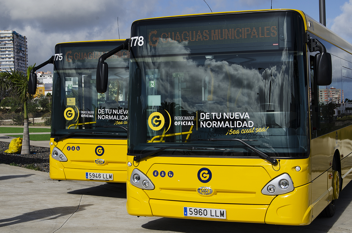 Guaguas Municipales incorpora 8 vehículos de 10 metros / CanariasNoticias.es