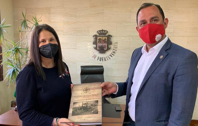 Blas Acosta y Esther Hernández/ canariasnoticias