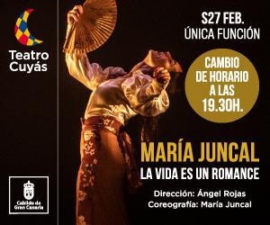 María Juncal en el Teatro Cuyás / CanariasNoticias.es