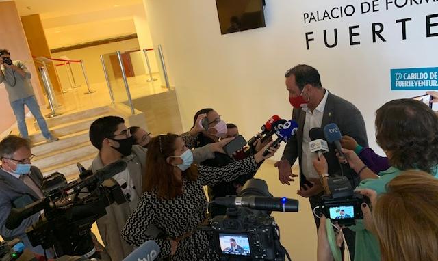 Blas Acosta renuncia a la presidencia del Cabildo de Fuerteventura / CanariasNoticias.es