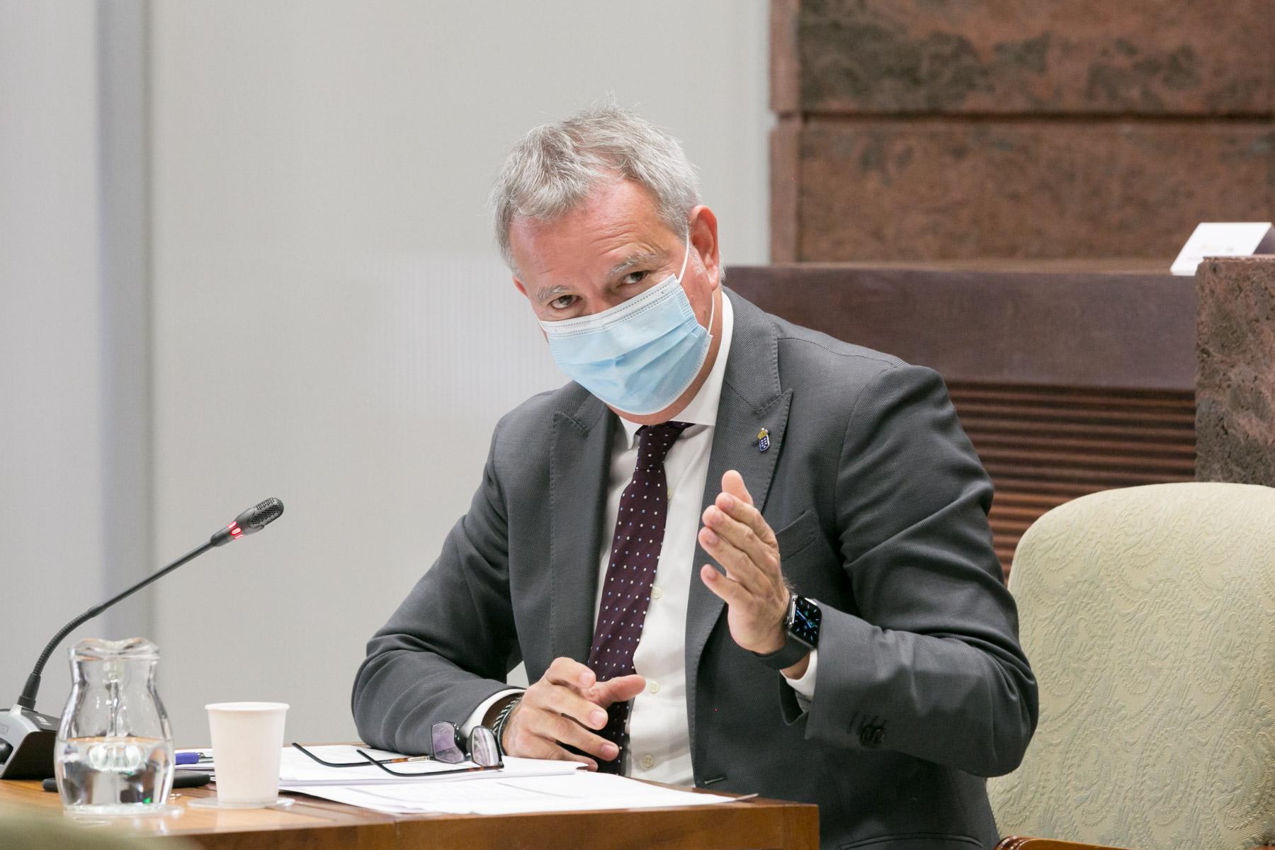 Sebastián Franquis consejero de Obras Públicas, Transportes y Vivienda / CanariasNoticias.es