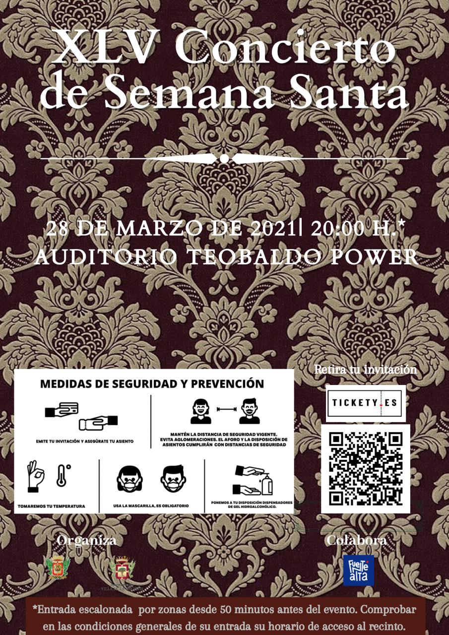 El Auditorio Teobaldo Power. XLV Concierto de Semana Santa. La Orotava/ canariasnoticias