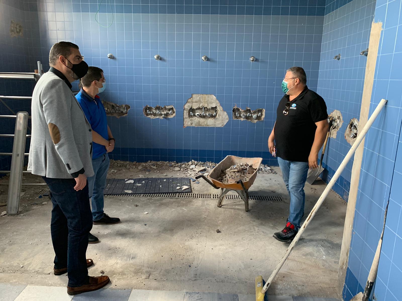 Remodelación de los vestuarios del campo de fútbol Pedro Miranda en Telde / CanariasNoticias.es
