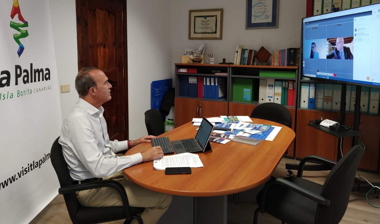 Raúl Camacho, consejero de Turismo del Cabildo de La Palma / CanariasNoticias.es