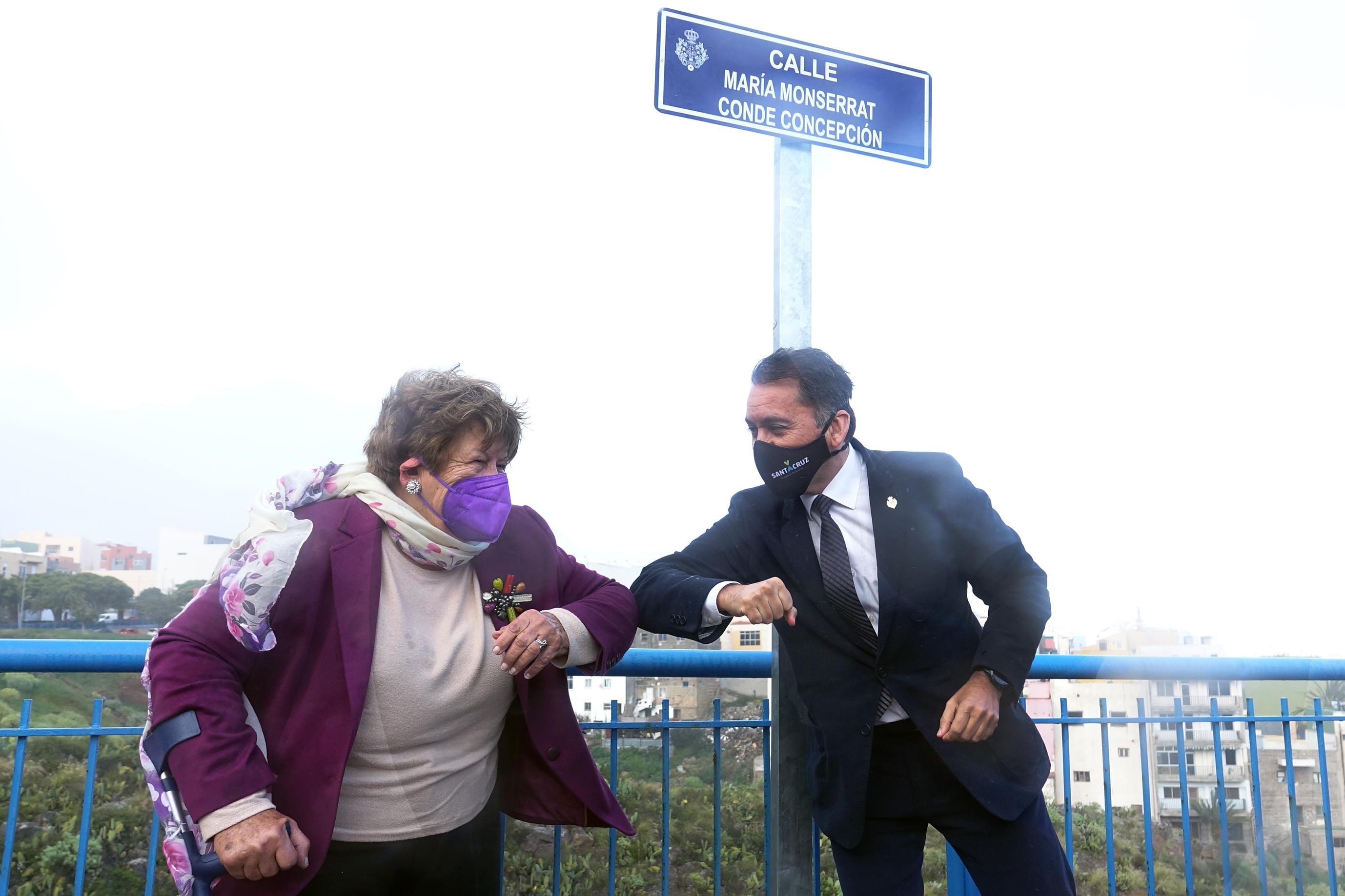 Una calle del Sobradillo (Sta. Cruz de Tenerife) lleva el nombre de Monserrat Conde / CanariasNoticias.es