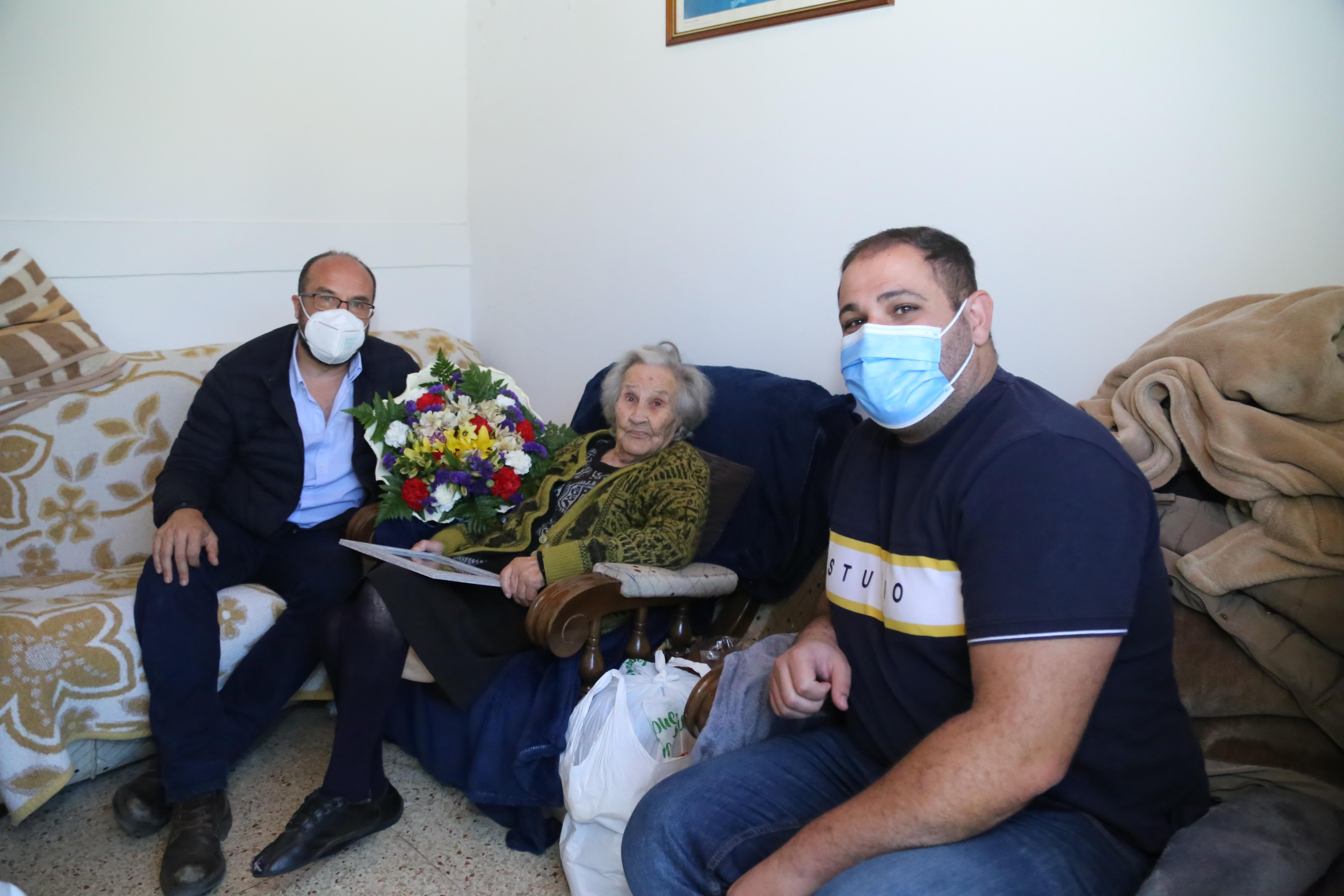 La abuela de Valleseco cumple 104 años / CanariasNoticias.es