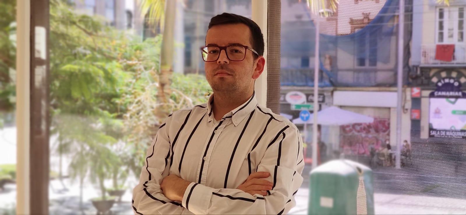Adán García, portavoz de Cs en el Ayuntamiento de Granadilla de Abona / CanariasNoticias.es